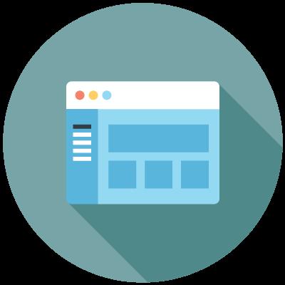 Admin dashboard icon, connectus