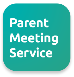 The Parent Meeting Service logo by Connectus